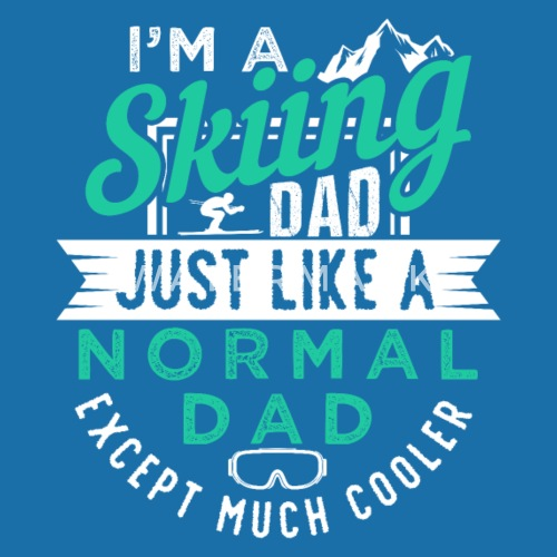 Cool Skiing Dad