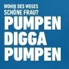 Pumpen Digga, Pumpen! for girls :-) - Baby Bio-Lätzchen