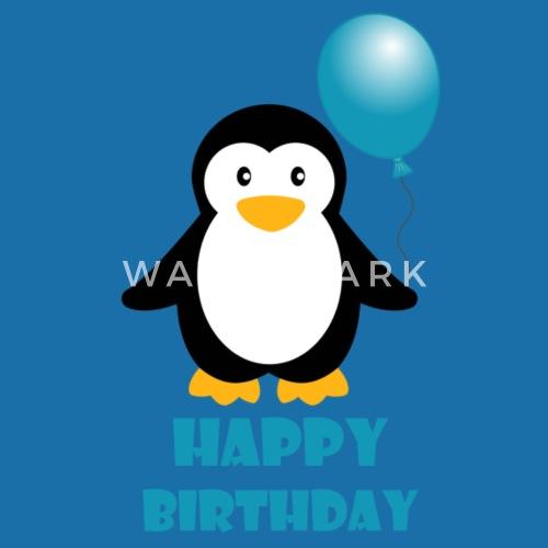 Happy Birthday Pinguin Geschenk Geburtstag Von Spidershirt Spreadshirt