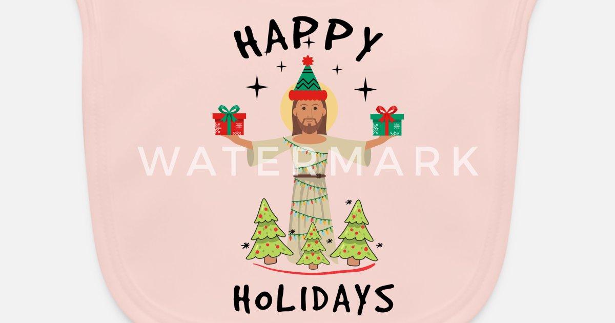 Frohe Weihnachten Jesus.Frohe Weihnachten Jesus Geschenk Tannenbaum Licht Latzchen