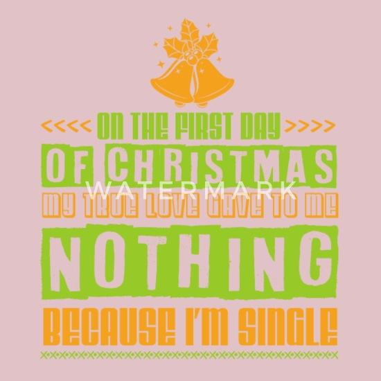 Single Weihnachten.Weihnachten Single Allein Einsam Lustig Geschenk Lätzchen Spreadshirt