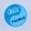 Cancer and Taurus Zodiac Sign Man Love Mug - Baby Organic Bib