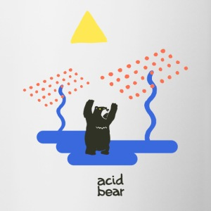 acid bear - Tasse bicolore