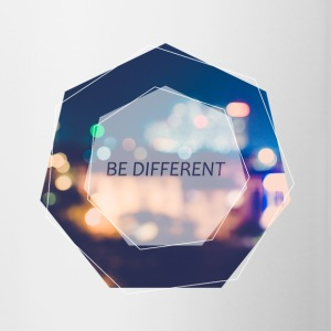 Be Different - Kubek dwukolorowy