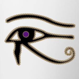 Eye of Horus - Tofarvet krus
