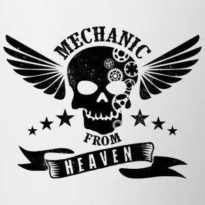 Mechanic From Heaven - Mok tweekleurig