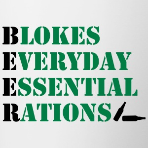 Blokes Everyday Essential Rations - Contrasting Mug