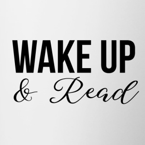 Wake up and read - Contrasting Mug