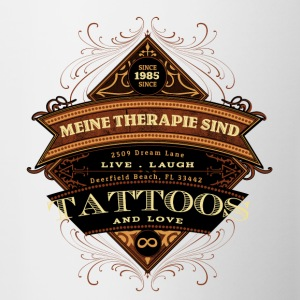 Tattoo Therapy - Contrasting Mug