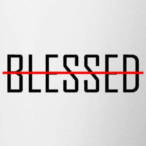 BLESSED - Taza en dos colores