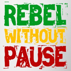 Rebel Without Pause - Contrasting Mug