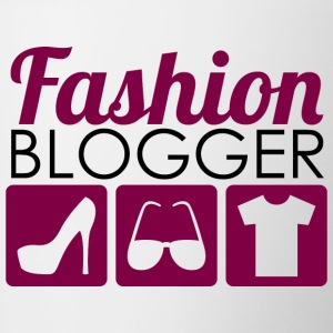 Fashion Blogger - Tasse zweifarbig