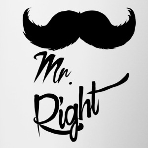 Mr Right - Mok tweekleurig