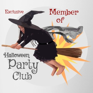 HMB Member Happy Halloween Party Club 18092017 2 - Tasse zweifarbig