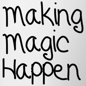 Making Magic-Happen - Kaksivärinen muki