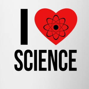 I LOVE SCIENCE * IDEAL GIFT * - Contrasting Mug