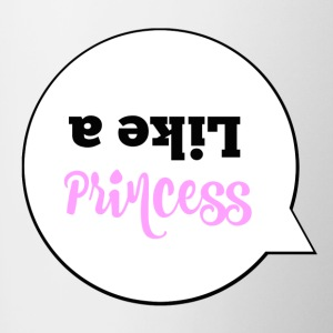 Like a princess - Contrasting Mug