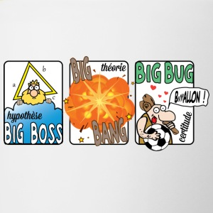 Big Boss Big Bang big bug - Tvåfärgad mugg