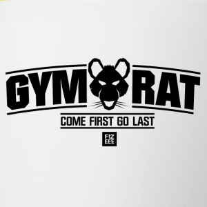FITNESS WEAR GYM RAT - Tasse bicolore