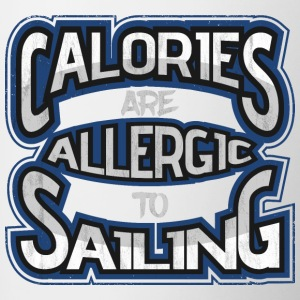 Calories are allergic to sails 2 - Contrasting Mug