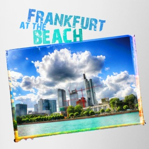 Frankfurt at the Beach - Contrasting Mug