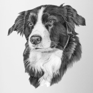 Border-Collie 2 - Tasse zweifarbig