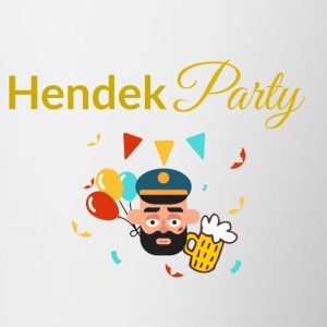 HENDEK PARTY - Tasse bicolore