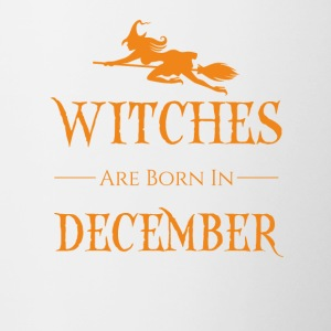 Witches Are Born In DECEMBER - Contrasting Mug