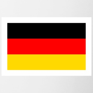 Germany flag - Contrasting Mug