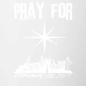 Pray for Vegas october 1st, 2017 - Contrasting Mug