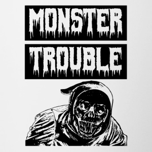 Trouble Monstre - Tasse bicolore