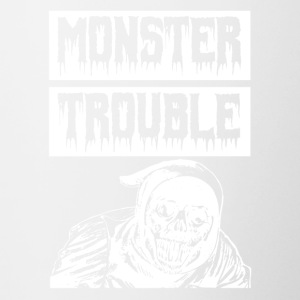 Monster TROUBLE - Contrasting Mug