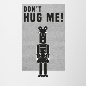 Cow Rock Heavy Metal Don`t hug me - Contrasting Mug
