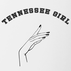 Déclaration: Tennessee Fille - Tasse bicolore