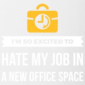 My Great Office. My Crappy Job! - Contrasting Mug