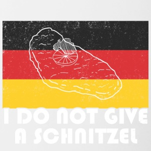 I do not give a Schnitzel T-Shirt - Tasse zweifarbig