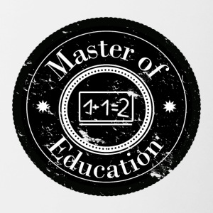 Master of Education Patch - Tofarget kopp