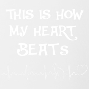 This is my heart beats III - Contrasting Mug