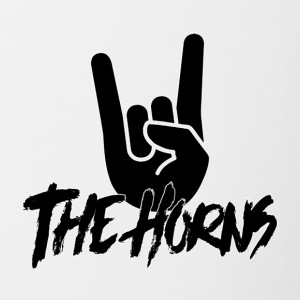 The Horns - Logo - Contrasting Mug