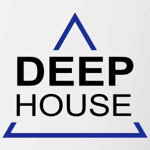 Deep House design 001 - Tasse bicolore