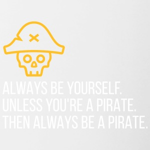 Be A Pirate! - Contrasting Mug