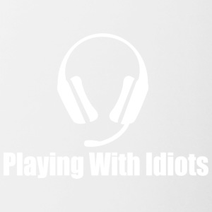 Playingwithidots - Mok tweekleurig