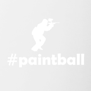 hashtag paintball - Tazze bicolor