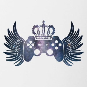 Controller Symbol Controller with wings and crown - Contrasting Mug
