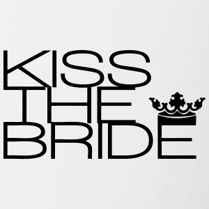 kiss the bride - Contrasting Mug