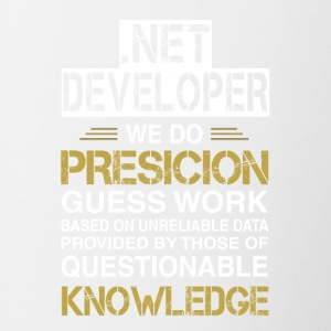 NET DEVELOPER Precision - Tofarvet krus