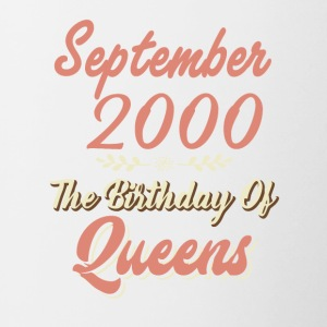 September 2000 The Birthday Of Queens - Contrasting Mug