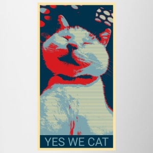 YES WE CAT - Tazze bicolor