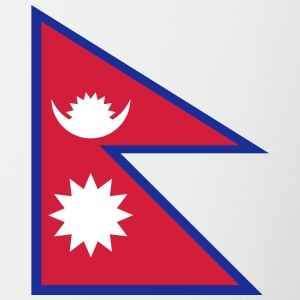 National Flag Of Nepal - Contrasting Mug