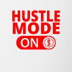 MODE ON HUSTLE Moneymaker selfmade - Tvåfärgad mugg